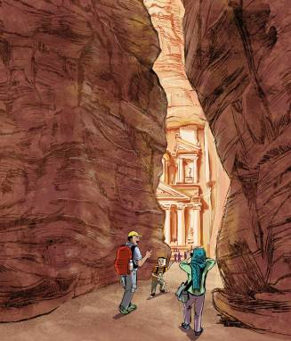 A Trip to Petra ( Learning AtoZ )