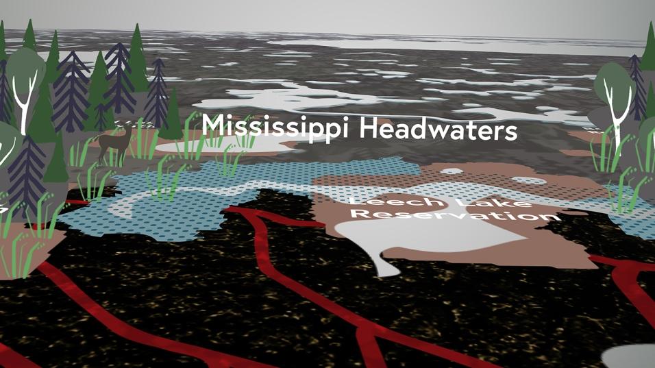Necessity Documentary Map Graphics